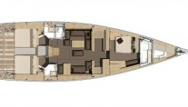 Sail Yacht MIMOSA - Layout